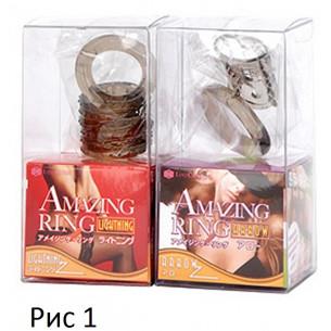 "Стимулирующая насадка ""New Amazing Ring Lightning"""