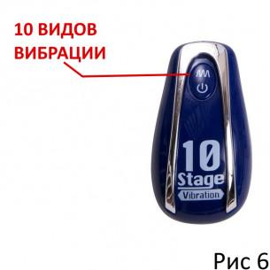 """Анальный вибратор """"Tamagorosi Purple"""""""