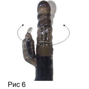 """Вибратор вагинально-клиторальный """"Pyua Smoke"""""""