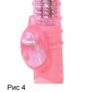 """Вибратор для точки G и клитора """"Pyua Pink"""""""