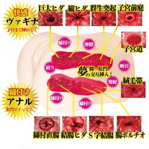 Мастурбатор мини полуторс '' Gokujo Namakoshi Mini Mari Rika''