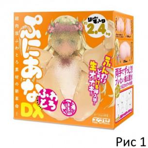 """Вагина и анус """"BodyPuni DX Soft"""""""
