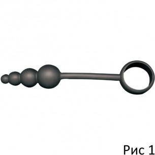 Эрекционное кольцо с елочкой ''Beads and Rings''